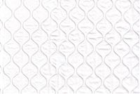 6163711 QUILTED SOLID WHITE Faux Leather Upholstery Vinyl Fabric