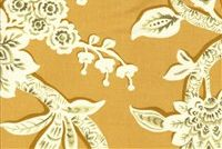 6178116 WESTSIDE MARIGOLD Floral Print Upholstery And Drapery Fabric