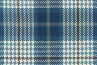6178612 BRENNAN D3077 COBALT Plaid Upholstery And Drapery Fabric