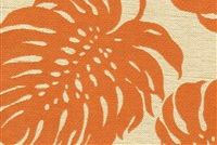 Covington SD-BAY PALM 340 MANDARIN Floral Indoor Outdoor Upholstery Fabric