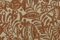 Covington SD-TIDE POOL 328 PAPRIKA Tropical Indoor Outdoor Upholstery Fabric