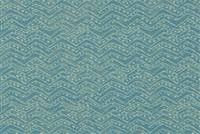 Covington SD-ZIGGY 512 CAPRI BLUE Geometric Indoor Outdoor Upholstery Fabric