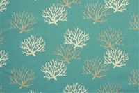 Premier Prints ISADELLA COASTAL BLUE Tropical Print Fabric