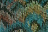 6222412 BARRY AQUA BAY Jacquard Fabric