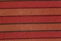 6224112 CRANBERRY Stripe Jacquard Upholstery Fabric
