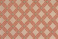 6225311 CROSSWALK APRICOT Lattice Jacquard Upholstery Fabric