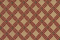 6225316 CROSSWALK GOLDEN WINE Lattice Jacquard Upholstery Fabric