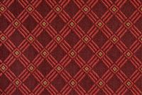 6225322 CROSSWALK RED Lattice Jacquard Upholstery Fabric