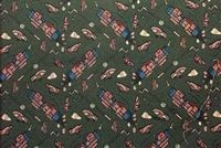 6250211 PRO GOLF FAIRWAY GREEN Tapestry Fabric