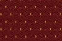 6251518 CANTERBURY BURGUNDY Diamond Jacquard Upholstery Fabric