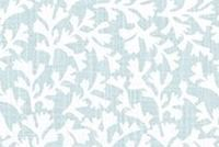 6403013 WOODWARD BLUE HAZE Tropical Print Upholstery And Drapery Fabric