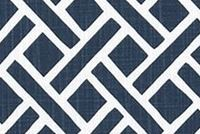 6403116 CLINT ITALIAN DENIM Lattice Print Upholstery And Drapery Fabric
