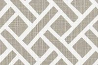 6403117 CLINT ECRU Lattice Print Upholstery And Drapery Fabric