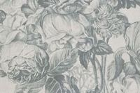 P/K Lifestyles FORESTRY TOILE QUARRY 408152 Floral Linen Blend Fabric