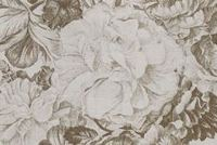 P/K Lifestyles FORESTRY TOILE NUTMEG 408153 Floral Linen Blend Fabric