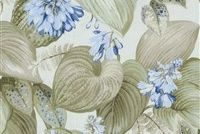 P/K Lifestyles HOSTAS MEADOW SUMMER 408400 Floral Print Upholstery And Drapery Fabric