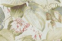 P/K Lifestyles HOSTAS MEADOW DAWN 408401 Floral Print Upholstery And Drapery Fabric