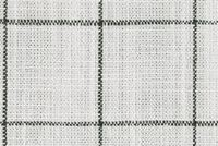 P/K Lifestyles CONCORD PANE DOMINO 408500 Check Linen Blend Upholstery Fabric