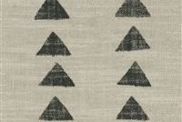 P/K Lifestyles NOMADIC TRIANGLE FOSSIL 408450 Geometric Linen Blend Upholstery And Drapery Fabric