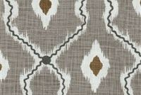 P/K Lifestyles IKAT STITCHERY SHADOW 408460 Ikat Embroidered Drapery Fabric