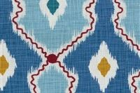 P/K Lifestyles IKAT STITCHERY FESTIVAL 408462 Ikat Embroidered Drapery Fabric