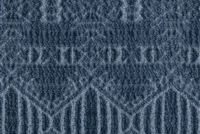 P/K Lifestyles OLD SOUL INDIGO 408240 Diamond Chenille Upholstery And Drapery Fabric