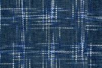 P/K Lifestyles HAMPTON PLAID COBALT 408201 Plaid Chenille Upholstery And Drapery Fabric