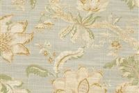 Waverly HAZEL ENDIVE 681870 Floral Linen Blend Upholstery And Drapery Fabric