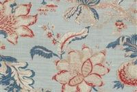 Waverly HAZEL OLD GLORY 681871 Floral Linen Blend Upholstery And Drapery Fabric