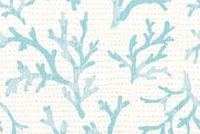 6411113 LYRA BLUE HAZE Tropical Print Upholstery And Drapery Fabric