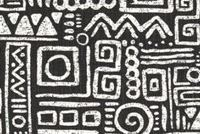 6411214 SANTA FE INK Geometric Print Upholstery And Drapery Fabric
