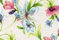 6412411 BLOOM 65 55IN SUMMERTIME Floral Print Upholstery And Drapery Fabric