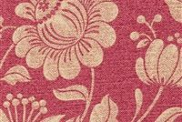 6412511 BUXTON 15 55IN ROSE Floral Print Upholstery And Drapery Fabric
