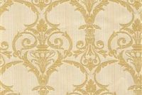 6412611 ADOWA 1 55IN CHAMPAGNE Floral Damask Upholstery And Drapery Fabric
