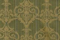 6412612 ADOWA 53 55IN OLIVE Floral Damask Upholstery And Drapery Fabric