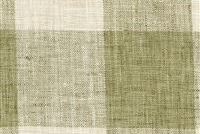 P Kaufmann CHECK PLEASE PLUS 399 GREEN TEA Buffalo Check Upholstery And Drapery Fabric