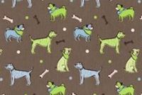 6414111 WUFF MANTIS Print Upholstery And Drapery Fabric