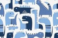 6414511 FRIENDS SKY Print Upholstery And Drapery Fabric
