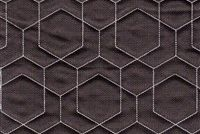 Performatex O'HEX LINEN QUILT GREY/WHITE Geometric Indoor Outdoor Upholstery And Drapery Fabric
