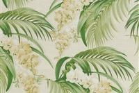 Tommy Bahama Home ORCHID HAVEN LEMONGRASS 802582 Floral Print Upholstery And Drapery Fabric