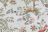 Waverly ABOVE THE TREETOP PLATINUM 68189 Floral Print Upholstery And Drapery Fabric