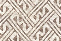 6427712 GRADY BEIGE Lattice Print Upholstery And Drapery Fabric