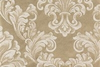 6432211 ANDOVER SAND Floral Damask Upholstery And Drapery Fabric