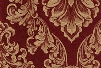 6432212 ANDOVER WINE Floral Damask Upholstery And Drapery Fabric