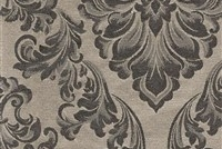 6432215 ANDOVER CHROME Floral Damask Upholstery And Drapery Fabric