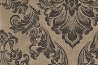 6432216 ANDOVER BRONZE Floral Damask Upholstery And Drapery Fabric