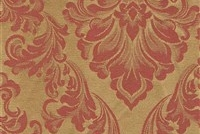6432217 ANDOVER BERRY Floral Damask Upholstery And Drapery Fabric