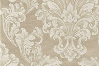 6432219 ANDOVER PEARL Floral Damask Upholstery And Drapery Fabric