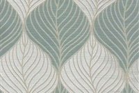 6432511 FOLIAGE ARCTIC Floral Damask Upholstery And Drapery Fabric