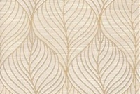 6432512 FOLIAGE PEARL Floral Damask Upholstery And Drapery Fabric